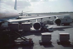 American Airlines at Honolulu International Airport, 1983.