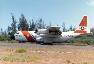 U.S. Coast Guard at Honolulu International Airport, 1986.
