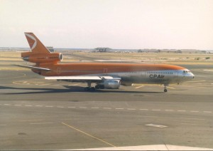 Canadian Pacific Air at Honolulu International Airport, 1986.