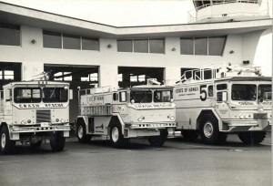 Crash Rescue, Honolulu International Airport, 1985.