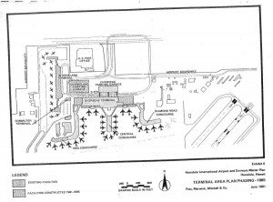 Honolulu International Airport Master Plan, 1981.