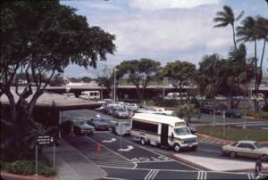 Interisland Terminal, Honolulu International Airport, April 1987.