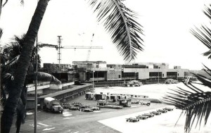 Central Concourse, Honolulu International Airport, 1980.