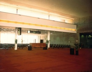 Gate 16, Honolulu International Airport, 1980s.