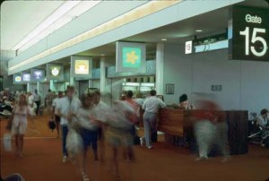 Central Concourse, Honolulu International Airport, 1987.
