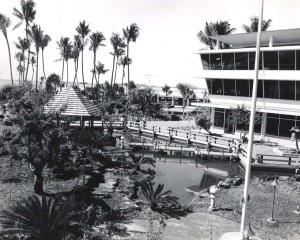 Japanese Garden, Honolulu International Airport, 1980s.