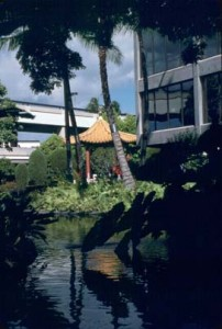 Chinese Garden, Honolulu International Airport, 1987.