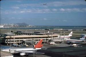 Honolulu International Airport, 1987.
