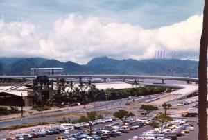 H-1 Freeway HNL Ramp Construction, June 28, 1980