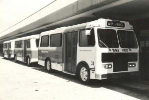 Wiki Wiki Bus, Honolulu International Airport, 1980s.