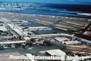 Honolulu International Airport 1987.