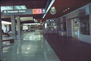 Lobby Shops, Honolulu International Airport, 1987.