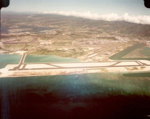 Reef Runway, Honolulu International Airport, February 9, 1980.