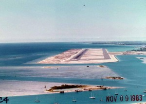 Reef Runway, HNL November 9, 1983