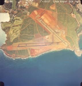 Lihue Airport, Kauai, March 7, 1984.
