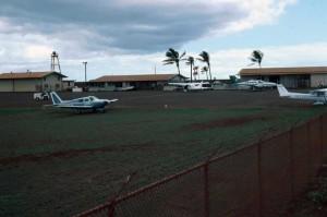 Lanai Airport August 16, 1988