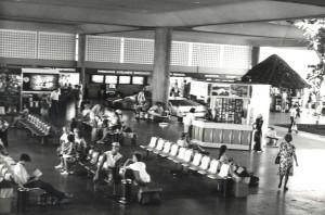 Terminal, Kahului Airport, Maui, 1980s.