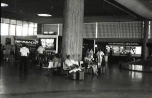 Kahului Airport, Maui, 1987.