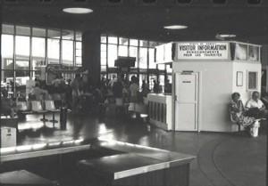 Terminal, Kahului Airport, Maui, 1981.