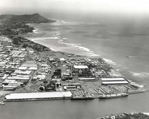 Sand Island, Honolulu Harbor, 1980s.