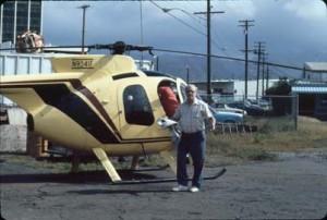 Ala Wai Heliport, Honolulu, 1985.