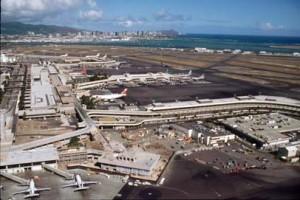 Honolulu International Airport, 1995.