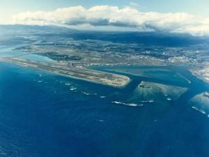 Honolulu International Airport, April 5, 1996.