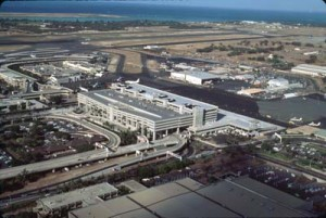 Interisland Terminal, Honolulu International Airport, January 1993.