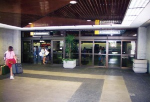 Entrance to Ticket Lobby, Interisland Terminal, Honolulu International Airport, 1995.