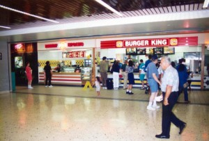 Food Court, Interisland Terminal, Honolulu International Airport, 1995.