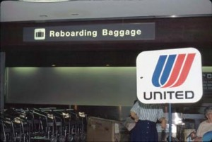 International Arrivals, Honolulu International Airport, 1990s.