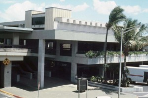 International Arrivals Building, Honolulu International Airport, 1990s.
