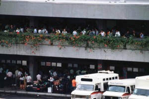 International Arrivals Group Tour Area, HNL, 1993