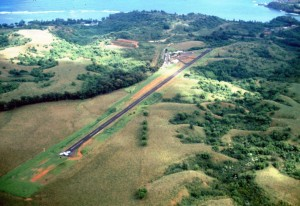 Princeville Airport October 23, 1990