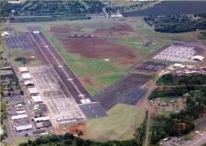 Lanai Airport, Hawaii, 1990.