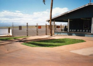 Lanai Airport, Hawaii, June 24, 1992.