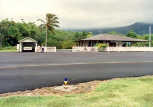 Hana Airport Terminal and ARFF Station, Maui, September 20, 1990.