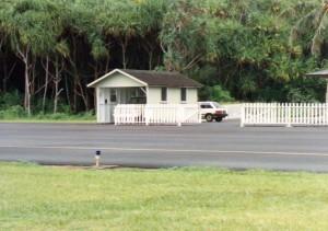 Hana Airport ARFF Station, Maui, September 20, 1990.