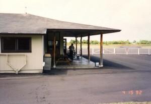 Hana Airport, Hawaii, April 15, 1992.