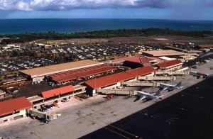 '90s Kahului Airport
