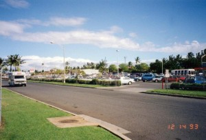 Frontage Road, Kahului Airport, Hawaii, December 14, 1993.