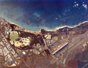 Kahului Airport, Maui, 1990s.
