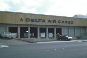 Delta Cargo Building, Honolulu International Airport, 1991.