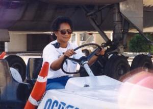 Ramp activity at Honolulu International Airport, 1994.