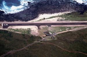 Kalaupapa Airport, Molokai, 1993.