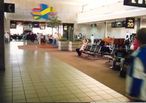 Central Concourse, Honolulu International Airport, 1994.