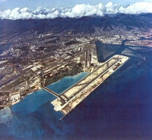 Reef Runway, Honolulu International Airport, July 14, 1992.