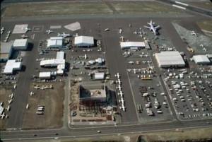 South Ramp General Aviation area, Honolulu International Airport, 1992.