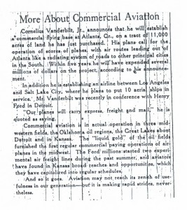 More About Commercial Aviation, 9-13-1925