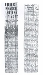 Rodgers Search Enters 4th Day, 9-4-1925